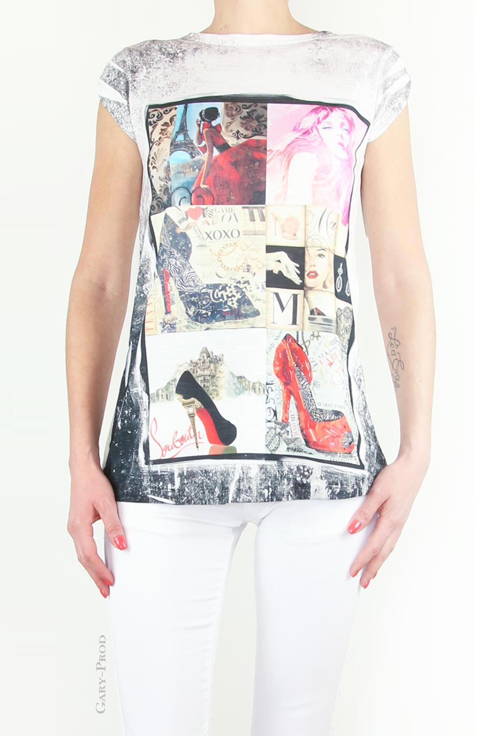 Tee shirt fashion 'MODA'