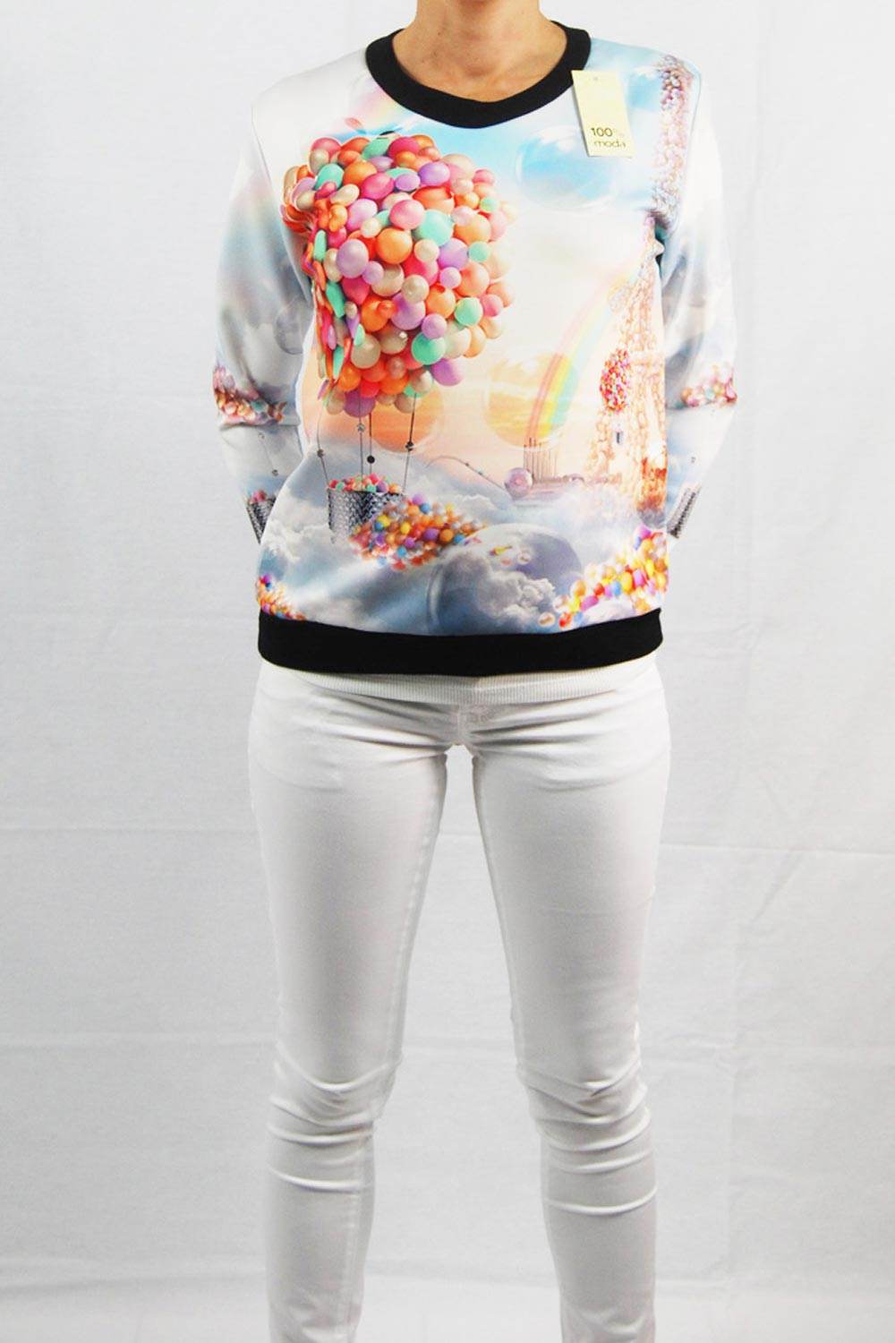 SW01 - Sweat ballons 'MODA'